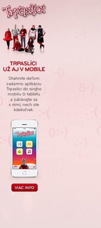 Trpaslíci už aj vo vašom mobile. Stiahnite deťom aplikáciu do vášho smartfónu.