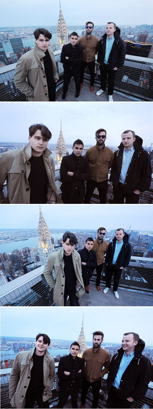 Vampire Weekend photographed by David Corlo (via roostam, Tumblr)