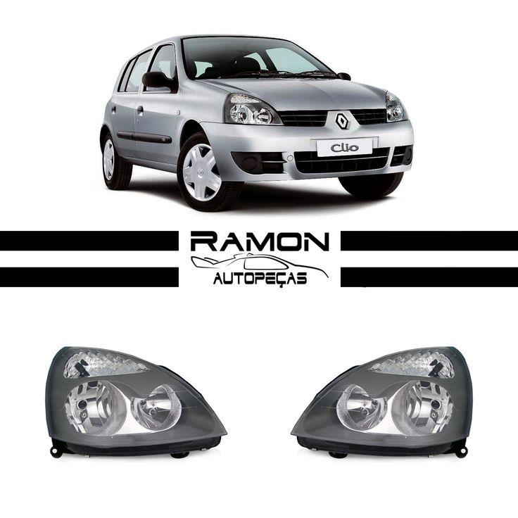 Farol Dianteiro Renault Clio 2004 2005 2006 2007 2008 2009 2010 Máscara Cinza  Entre em contato conosco: Fone: (11) 2369-8510 WhatsApp: (11) 96990-0108  Acesse nossa loja: www.ramonautopecas.com  #farol #dianteiro #renault #clio #mascara #cinza #car #cars #carros #supercar #auto #automotive #peçasnovas #lanterna #pisca #milha #parachoque #parabarro #grade #ramon #autopeças #ramonautopeças #bosquedasaúde #sãopaulo #brasil