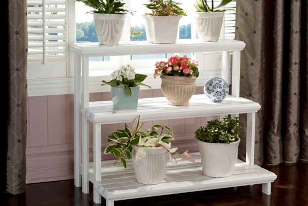 Build A Tiered Plant Stand Diy Pinterest