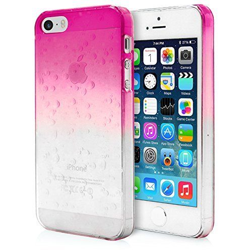 iPhone 5S Case, MagicMobile® Ultra Thin Slim Fit Waterdrop Cute Cover for Girls…