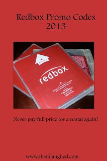 OOOOHHH!!!!    Then I Laughed: Redbox Promo Codes 2013