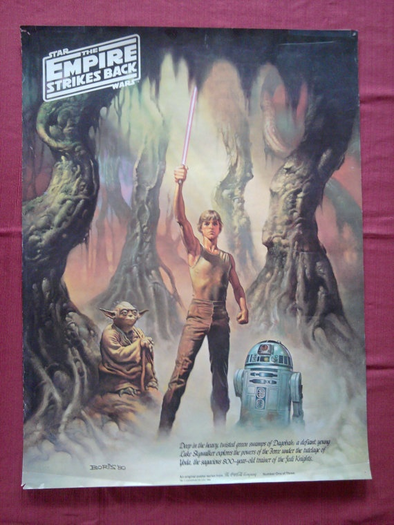 1980 Boris Vallejo Empire Strikes Back CocaCola promo by wiliqueen, $24.00