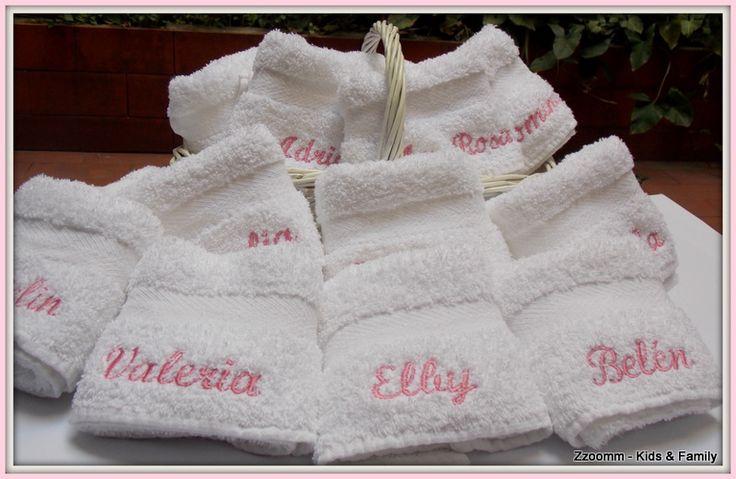 Souvenirs toallas personalizadas pinterest - Toallas infantiles personalizadas ...