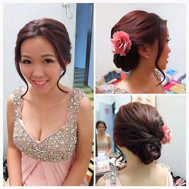 Wedding Hairstyle Korean: 17 Best Images About Hair Styles, Updos, Braids On