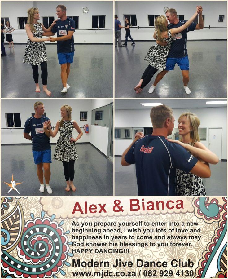 Congratulations Alex & Bianca www.mjdc.co.za