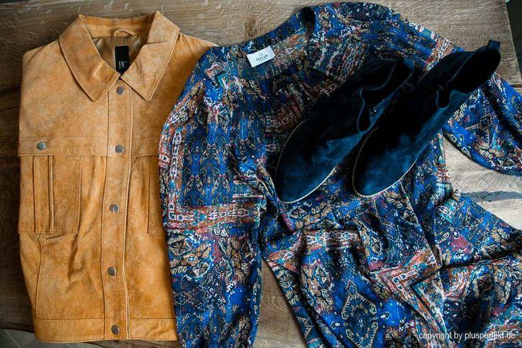 Lässig & chic! Unser Outfit im Bohostyle zaubert einen zarten Frühlingshauch in trübe Wintertage. Die beigefarbene Wildlederjacke im Jeansjackenlook kombinieren wir