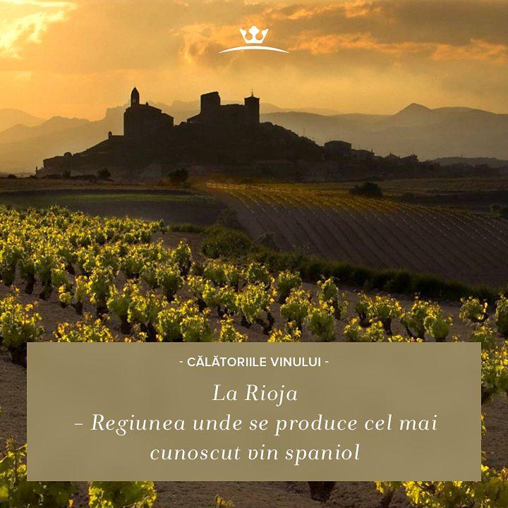 """Știai că La Rioja este una dintre cele mai renumite zone viticole? Arealul spaniol este """"patria-mamă"""" a unora dintre cele mai aromate vinuri roșii."""