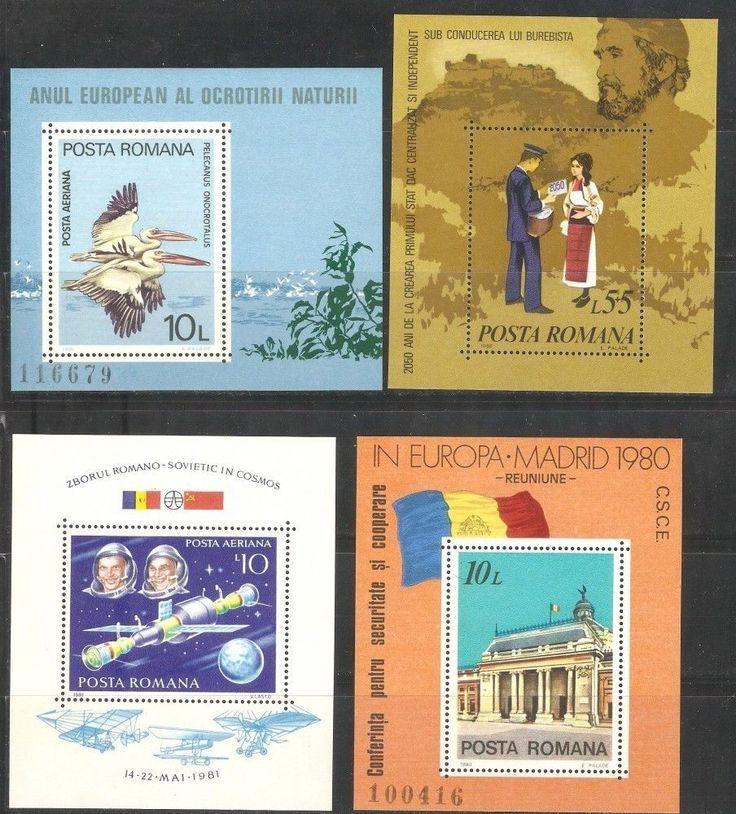 MNH Stamps Blok  Romania 15 items (C*5**)