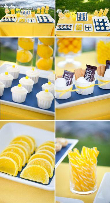 Wedding Ideas Yellow  candy & dessert bar buffet    #wedding #yellow