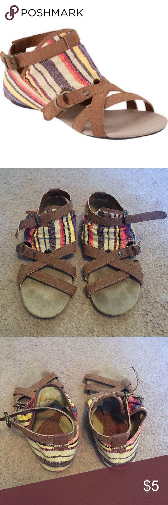 Big Buddha Sandals Super cute!! Worn once or twice Big Buddha Shoes Sandals