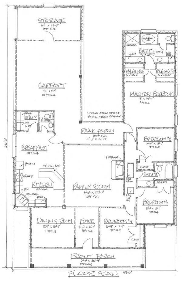25 best ideas about acadian house plans on pinterest for Small acadian house plans