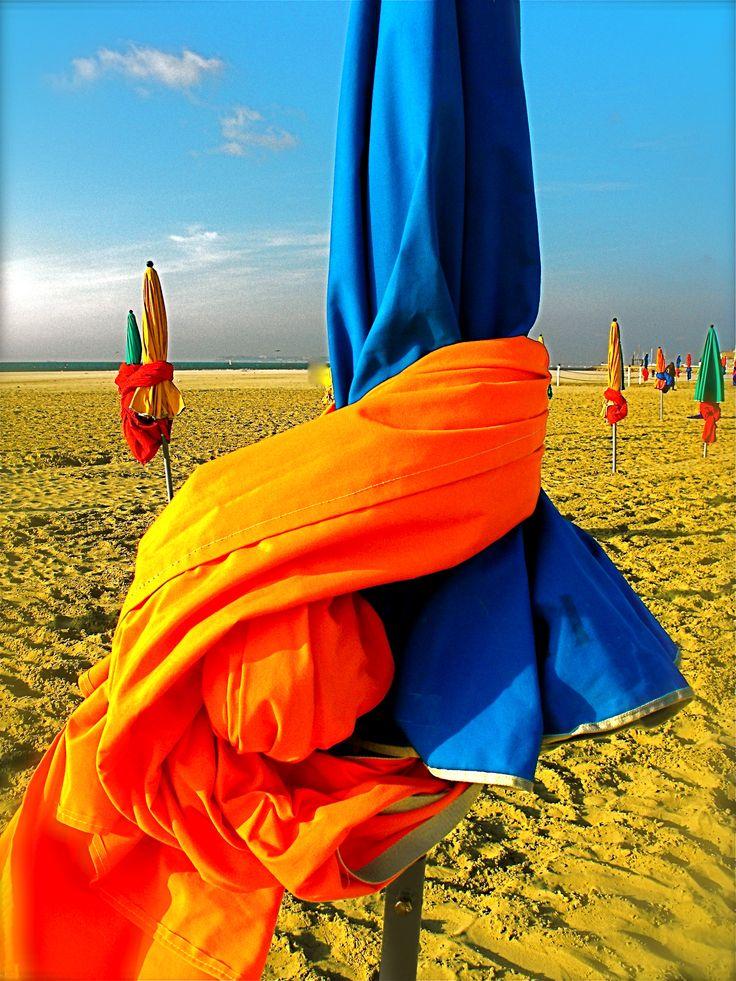 Sur la plage de Deauville