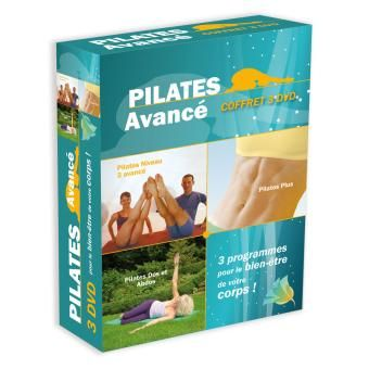 Pilates avancé - Coffret 3 DVD_0