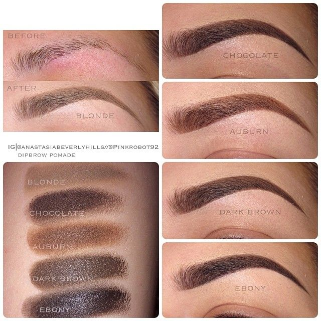 .@Vicky Lee Lee Lee Armendariz | Here are some swatches of @anastasiabeverlyhills Dipbrow Pomade! I've been us... | Webstagram