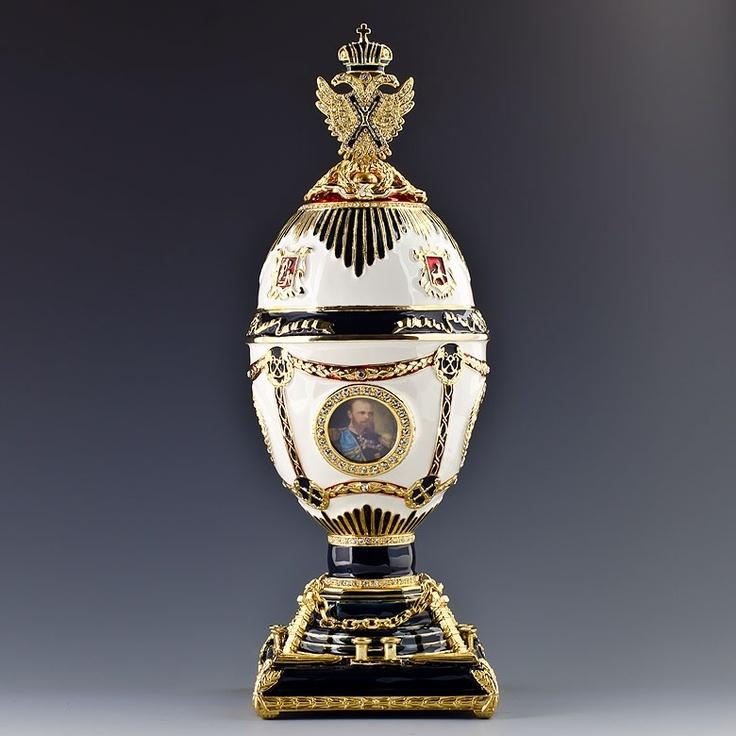 1802 best imperial faberge eggs images on pinterest faberge eggs imperial eagle faberge style egg carl faberge was a russian jeweler of french origin best negle Gallery