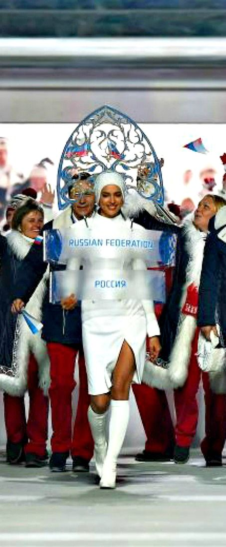 Sochi 2014 Winter Olympics opening ceremony | The Russian Team Enters