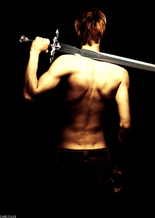 I completely respect Bradley James as an actor so I'm not gonna objectify him at OH LOOK! Shirtless with back dimples! *pin* ...What was I saying?