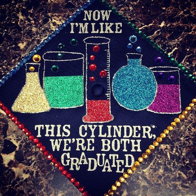 Chemistry Graduation Cap Fast Graduation Cap Ideas