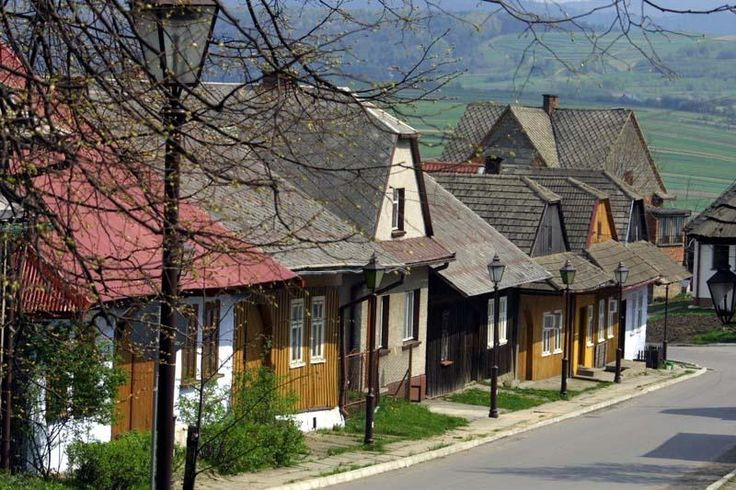 Lanckorona, a village in Poland
