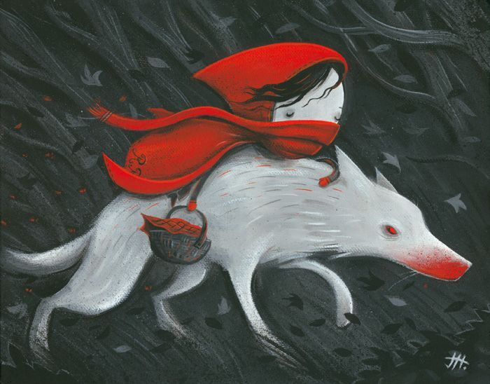 Red Riding Hood   - Imps and Monsters  By Justin Hillgrove