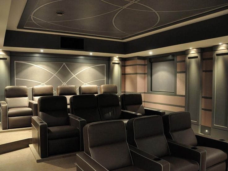 Building a Home Theater: Pictures, Options, Tips & Ideas | Home ...