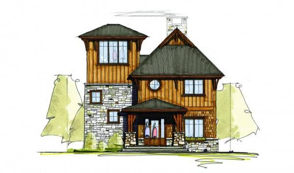 Distant Journey Timber Home Plan By Mosscreek Designs Cottage Plan Mountain House Plans House Plans