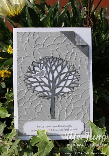 """Trauerkarte """"Wald der Worte"""""""