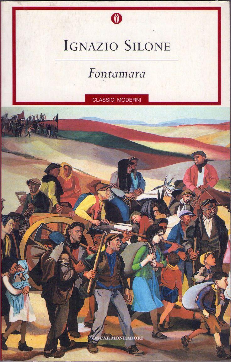 FONTAMARA, di Ignazio Silone ed. Oscar Mondadori