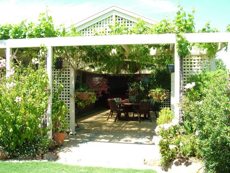 Home in South Australia  www.christiesbeachprofessionals.com.au #realestate #realestatesouthaustralia #Garden #Pergola