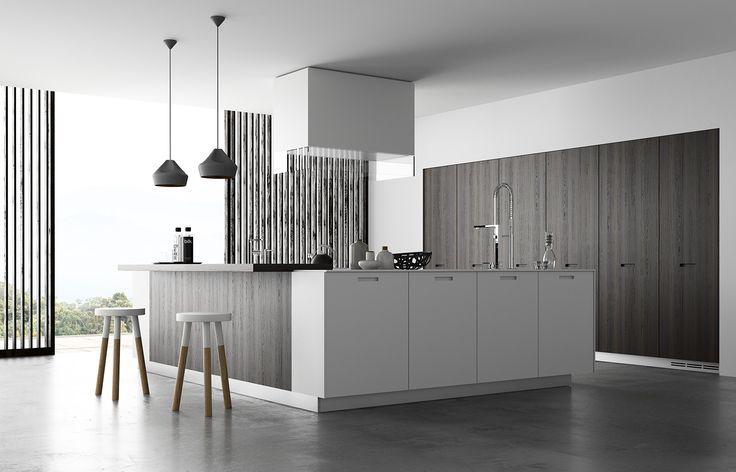 poliform kitchen render