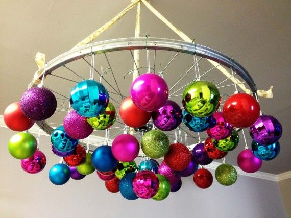 For Denise, who like Christmas ornaments and repurposing****Like 6 million ways to repurpose a bike!