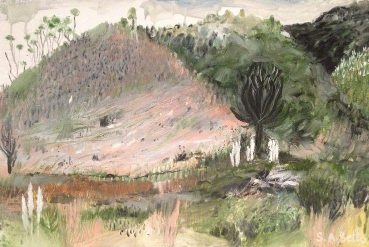 Creative Oil Painting Oils Canvas Art Artist New Zealand Contemporary Landscape Expressive Plain Air Coromandel North Island Artwork Painter Auckland