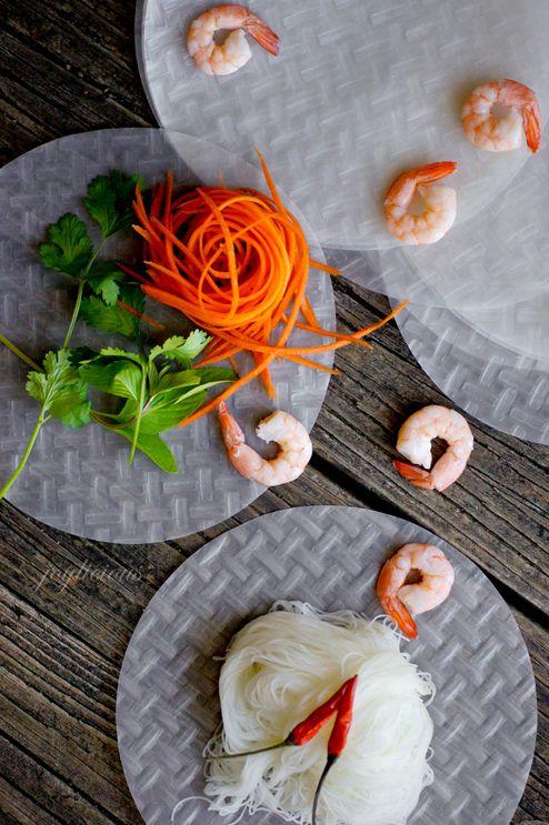 how to cook shrimp for vietnamese spring rolls
