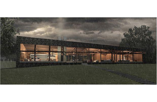 lago ranco moderno casas diseo moderno minimalista madera hormigon chile loi arquitecto by nicolas loi