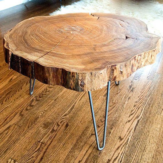 Стол Лофт Макао - купить дубовый стол в эко интерьер в Москве