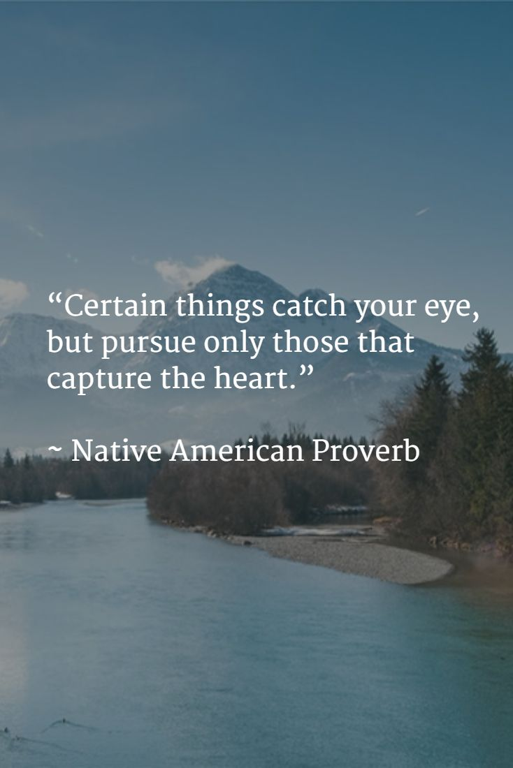 One Thing Is Certain Quotes: 43 Best Ideas About Native American Quotes On Pinterest