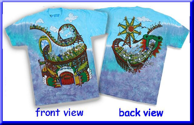 7dd70a91d27 Grateful Dead - Amusement Park Tie Dye T Shirt