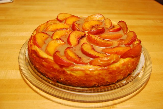 about Cheesecake on Pinterest | Peach cheesecake, Eggnog cheesecake ...