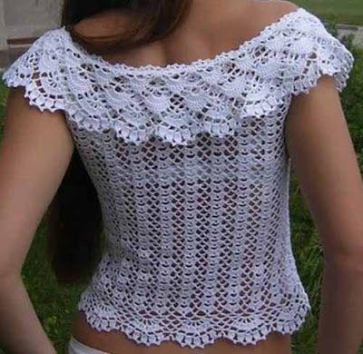 Free Crochet Pattern Blouse - Crochet Yarn Online