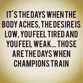 Tag a CHAMPION that impacts you and your fitness journey! #motivation #Instagram @sil0209 @shawa8079