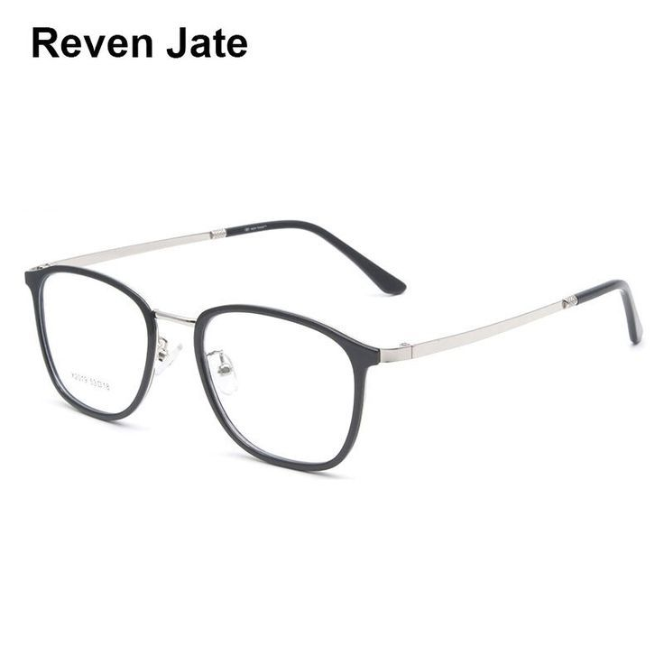 Reven Jate X2019 Full Rim Alloy Metal Eyeglasses Frame For Men And Women Optical Brillengestelle Brillen Gestell Brille
