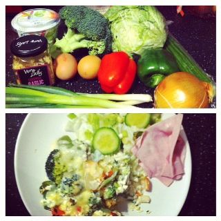 Cheese and Broccoli Bake #SP #Slimmingworld #tswdiaries