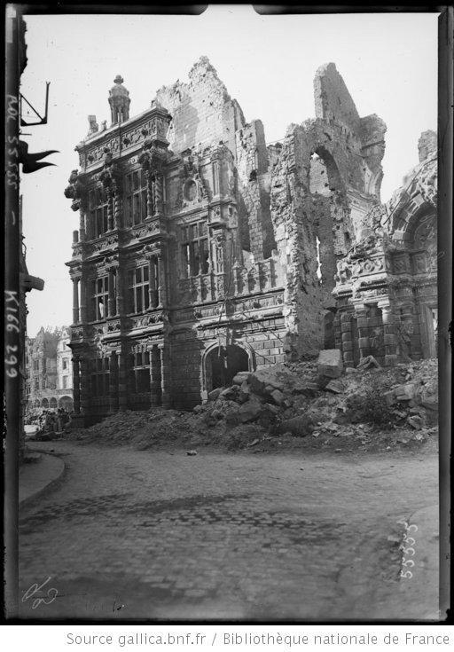 Arras rue des Trois Visages.