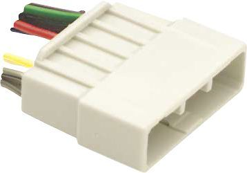 Metra - Wiring Harness for Most 1986-1998 Honda Acura Vehicles - Multicolored