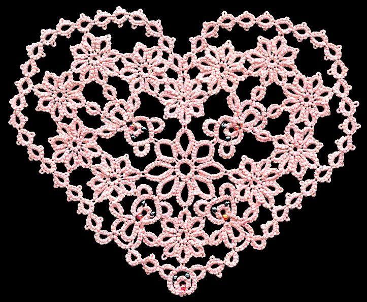218 besten tatting Bilder auf Pinterest | kostenlose Muster, Knoten ...