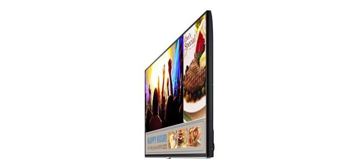 Samsung Electronics, küçük ve orta boy işletmelere (KOBİ) ve küçük ofis/ev ofisi   sahiplerine yönelik olarak tasarlanmış devrim niteliğinde   yeni nesil televizyon  tasarımındakiSamsung Smart Signage TV'yi tanıttı. Samsung Smart Signage dijital ekranların bilgilendirme ve tanıtım açısından sunduğu faydaları canlı televizyonun eğlencesi ile bir araya getiriyor.