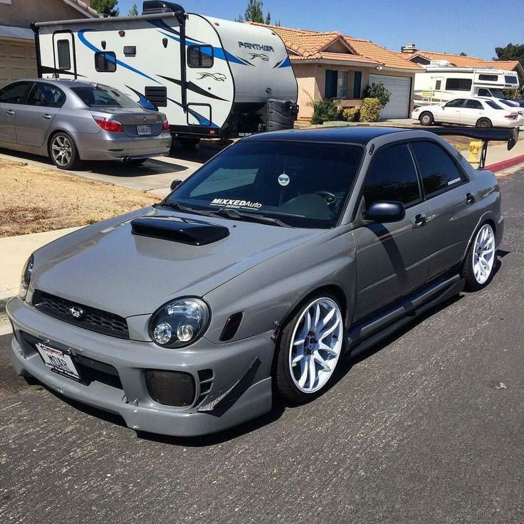 the wrx was a rally circut carbut now is a show car