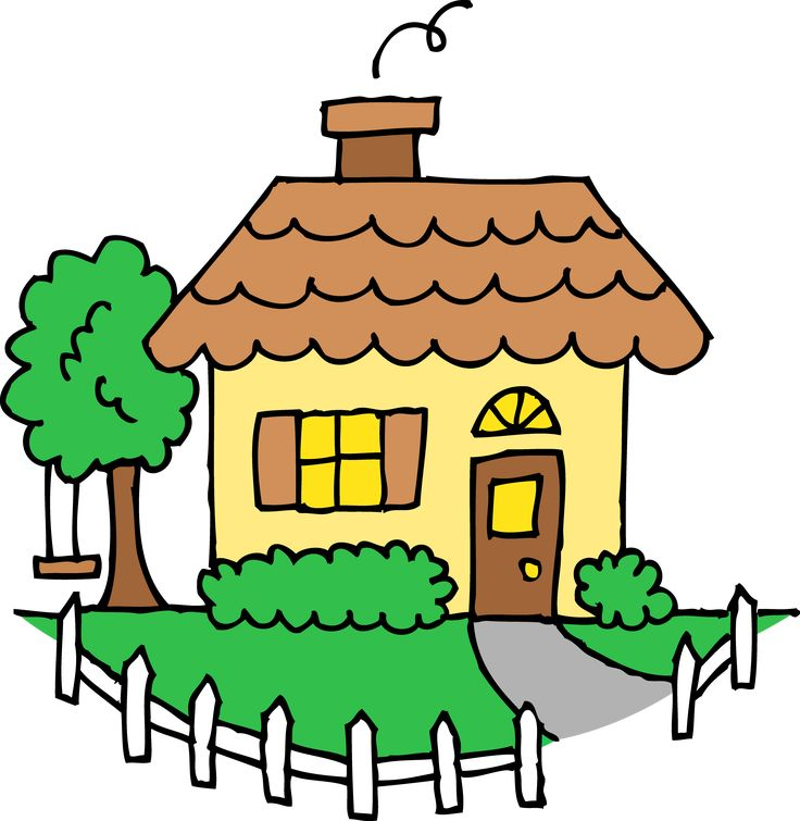 small house clipart