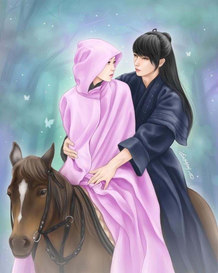 #Scarlet_heart_ryo #lee_jun_ki #Scarlet_heart_ryo_fanart #IU